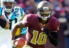 """Redskins throwback """"leather"""" helmet 2012    Google Image Result for http://nfldotcom.files.wordpress.com/2012/11/robert-griffin-121105-blog.jpg"""