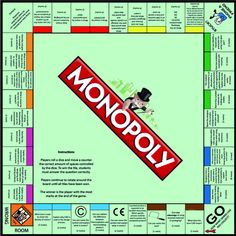 AQA Graphic Products Revision Monopoly