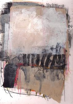 Marie Bortolotto Untitled; acrylic paint, ink and graphite