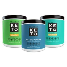 Perfect Keto MCT Oil Powder contains of MCTs (medium chain triglycerides) per serving bound to acacia fiber and packed with making them blendable into shakes, smoothies, and recipes! It tastes like the perfect keto-friendly creamer. Vegan Keto Diet, Keto Diet Plan, Diet Plans, Atkins Diet, Keto Meal, Best Diets To Lose Weight Fast, How To Lose Weight Fast, Healthy Weight, Reduce Weight