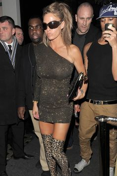 Katie Price leaving Merah nightclub - celebrity fashion (Glamour ...