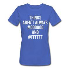 2b23d6eb9 Things Aren't Always #000000 and #ffffff Men's T-Shirt - light heather  grey. Create Custom T ShirtsHockey ...