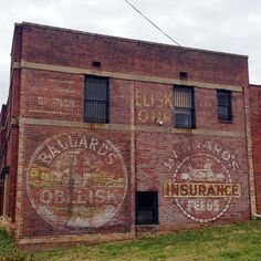 Ballard's ghost signs in Birmingham, AL