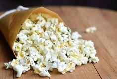 Italian Truffle Oil Popcorn - Will Cook For Smiles