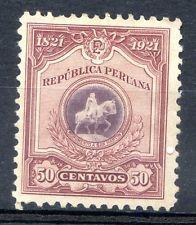 Perú Sc # 230, M No Goma