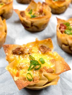 Tasty Taco Cups from PudgeFactor.com
