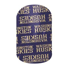 Washington Huskies | Jamberry #WASHINGTONHUSKIESJN