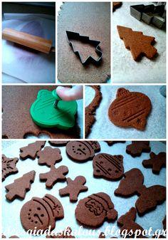Ιδέες για δασκάλους: Μοσχομυριστά στολίδια κανέλας! Creative Activities, Xmas, Christmas, Clay Crafts, Gingerbread Cookies, Desserts, Diy, Food, Children