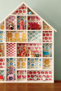 Wallpapered House