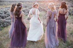 Noiva + madrinhas roxo e lilás 2