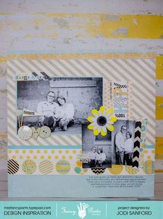 J layout by Jodi Sanford using the Park Bench Collection by Fancypantsdesigns.com