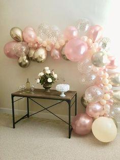 Balloon Arch Kit Balloons Säulenständer mit Frame Stick Pole Ballon Clip