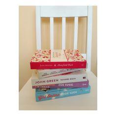 chair, white, books, artistic