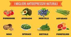 """Gli alimenti antidepressivi sono un ottimo punto di partenza tra i rimedi naturali contro la depressione. Esistono determinati alimenti che agiscono non solo sul benessere fisico ma anche su quello psichico. Quasi tutti ci rendiamo conto di come, a volte, un quadretto di cioccolato possa funzionare incredibilmente bene per ridarci un po"""" di buon umore. Ma esistono anche altri alimenti che possono migliorare il nostro stato d""""animmo. A tal proposito ecco un elenco di alimenti antidepressivi…"""