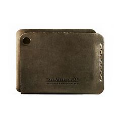 Leather Slim Wallet 2 in 1 cash / card leather wallet