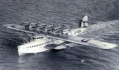 First flown in July the Dornier Do-X was the largest, heaviest, and most powerful flying boat in the world. Amphibious Aircraft, Ww2 Aircraft, Military Aircraft, Sikorsky Aircraft, Boeing 747, Luftwaffe, Float Plane, Air Festival, Flying Boat