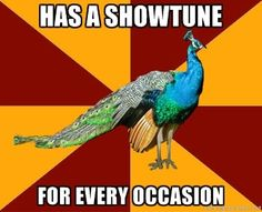 Life of every theatre geek