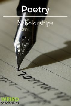 poetry scholarships college students Scholarships for engineering students college student scholarships of scholarships for writers available in the writing of prose and poetry to qualify.