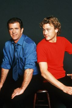 Heath Ledger and Mel Gibson