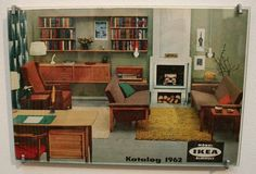 1962 IKEA catalog cover. I wish they still made more of this mid-century furniture