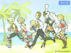 Final Fantasy Xii, Video Game, Gaming, Comics, Character, Drawings, Video Games, Games, Comic Book