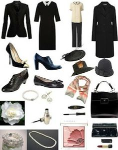 coco+chanel+style | image in style coco chanel this set i created based on the style of ...