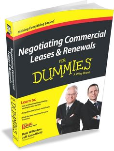 Product of the Week | Negotiating Commercial Leases & Renewals For Dummies from The Lease Coach. This book helps take the mystery out of dealing with landlords and their agents and levels the playing field for tenants. Renting space for businesses and navigating a commercial lease can be a daunting task for even experienced tenants, as errors or oversights can cost thousands of dollars. The expert advice and tips will help all business owners successfully negotiate their leases.