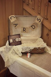Wedding cards. homemade rustic chic. country wedding
