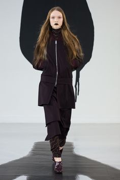 """Look 3 from the AALTO Autumn / Winter 2016 """"Hellsinki"""" -collection shown at Paris Fashion Week."""