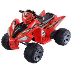 Kids Ride On Electric Toy Car Vehicle Four Wheel Battery Powered Red US SHIP - http://hobbies-toys.goshoppins.com/electronic-battery-wind-up-toys/kids-ride-on-electric-toy-car-vehicle-four-wheel-battery-powered-red-us-ship/