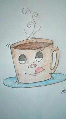 Coffee art - Erin Brown