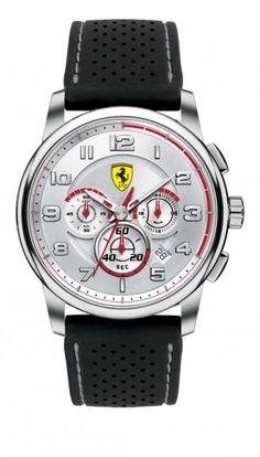 40edf07c866 Scuderia Ferrari Watches · Ferrari - Mens Silicone Strap SF 107    Heritage   Watch - 0830064 -