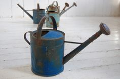 Old watering can.
