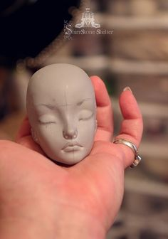 Our new big girl, bjd prototype in progress... ♥ sssdolls.com facebook