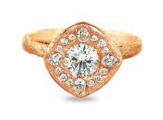 Indie Wedding Rings on Pinterest