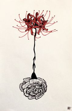 Post with 0 votes and 802 views. Tokyo Ghoul Drawing, Tokyo Ghoul Fan Art, Ken Kaneki Tokyo Ghoul, Tokyo Ghoul Flower, Body Art Tattoos, Sleeve Tattoos, Tatoos, Red Spider Lily, Tokyo Ghoul Wallpapers