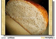 Mlynářův chléb recept - TopRecepty.cz Yams, Food To Make, Bread, Baking, Recipes, Brot, Bakken, Breads, Backen