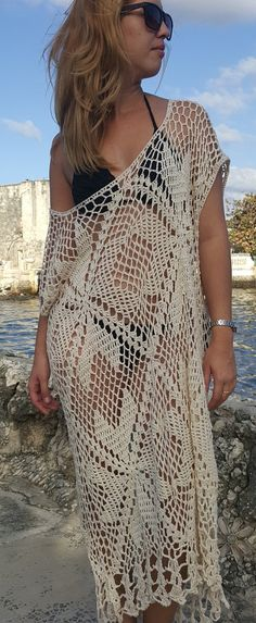 summer crochet dress by OmyFashions on Etsy