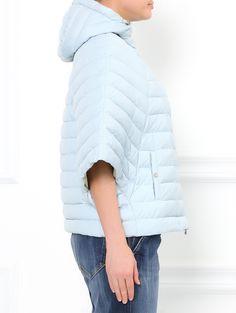 Стеганая куртка-летучая мышь на молнии - Модель Верх-Низ2