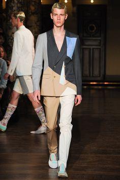 Walter Van Beirendonck Spring 2014 Menswear Fashion Show
