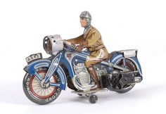 Tinplate & Plastic | Toy Motor Cycles | Vectis Toy Auctions