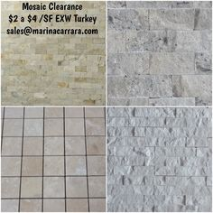 Our friends at @marina_n_carrara are helping liquidate travertine mosaics EXW Turkey at great prices in 500-5000 SF available in variety of colors textures.  sales@marinacarrara.com PLEASE SERIOUS INQUIRIES ONLY.  ##tiles #tiled #tile #tiler #tileaddiction #tilework #tileart #tileporn #tilefloor #tilesetter #tiledesign #stone #stones #marble #marbles #granite #granites #walls #floors #countertops #design #interiors #tilestonetrends #tilegallery #homedecor #tiletuesday…
