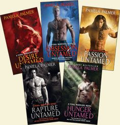Feral Warriors series by Pamela Palmer. This is a good Paranormal Romance series if you are into Shape Shifters. http://www.pamelapalmer.net/enter-world/feral.htm