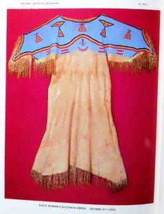 Lakota beaded dress