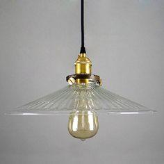 Glas Anhänger Lampe Lampenschirm OR Komplettset von LightwithShade