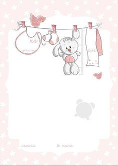 Floral Wallpaper Phone, Cartoon Wallpaper, Framed Wallpaper, Baby Cards, Kids Cards, Baby Design, Baby Poster, Teacher Cartoon, Baby Animal Drawings