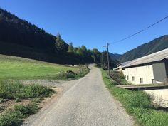 Laufend gebloggt: Berglauf Lançon - Mont St. Gaillard