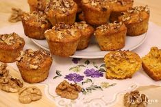 No Cook Desserts, Healthy Sweets, Muffin, Cupcakes, Snacks, Vegan, Cooking, Breakfast, Food