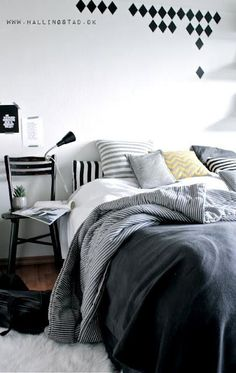 Stylizimo - Home. Decor. Inspiration. for bedroom! #Grey