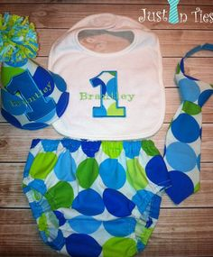 baby boy 1st birthday party ideas | Baby Boy Polka Dot Cake Smash Outfit First ... | Birthday Party Ideas